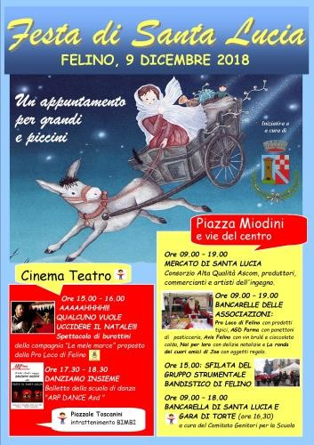 Festa di Santa Lucia a Felino: un appuntamento per grandi e piccini