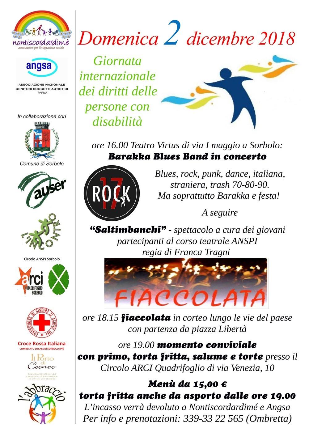 Giornata dei diritti delle persone con disabilità