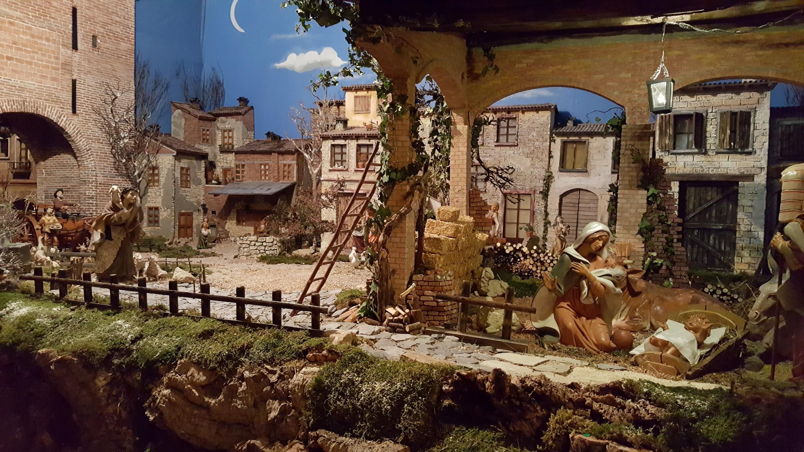 A Priorato mostra di presepi e altre mostre di carattere natalizio
