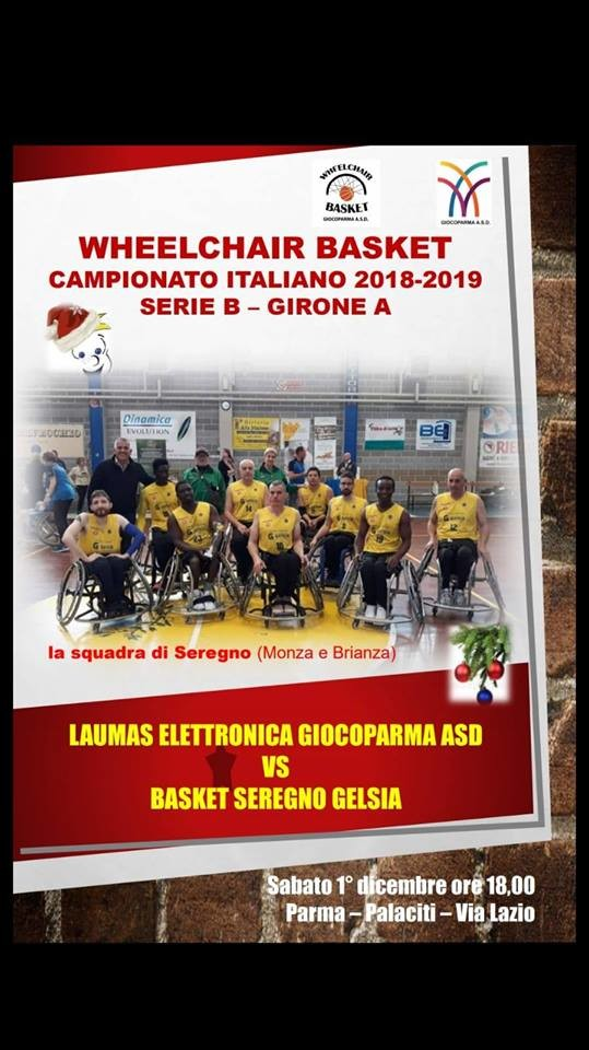 Laumas Elettronica Giocoparma ASD VS Basket Seregno Gelsio