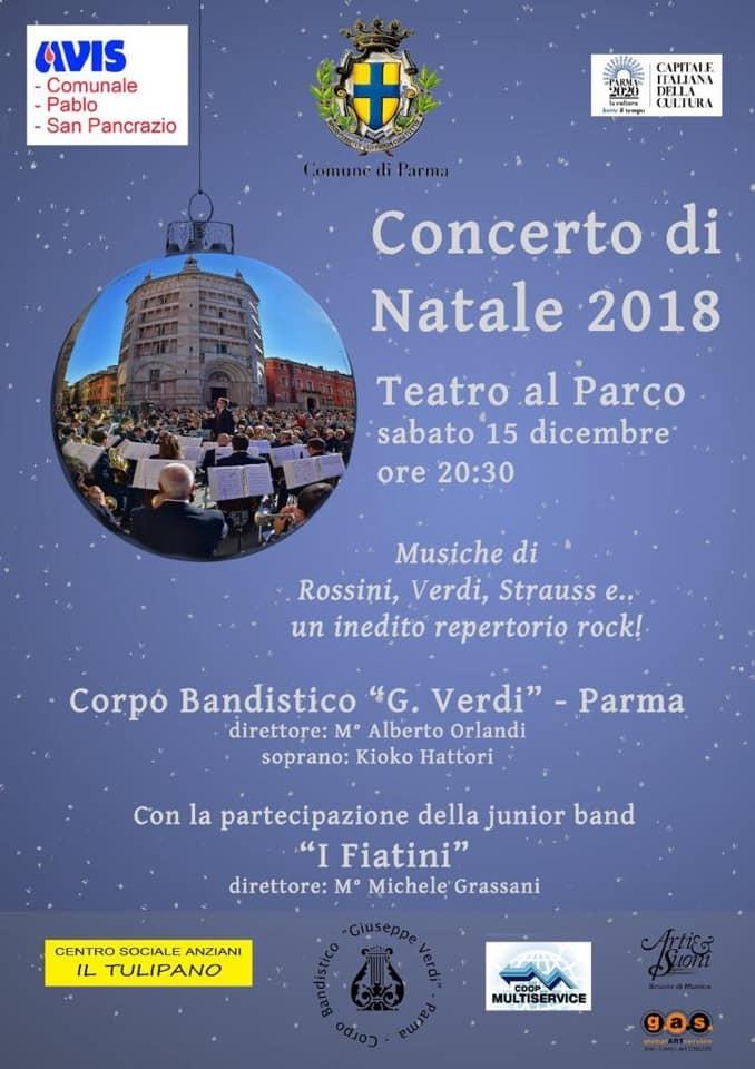 Concerto di Natale 2018 al Teatro al Parco