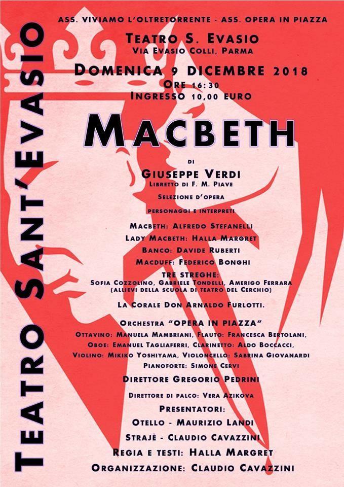 Il Macbeth in S.Evasio