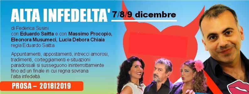 ALTA INFEDELTA' al Nuovo Teatro Pezzani