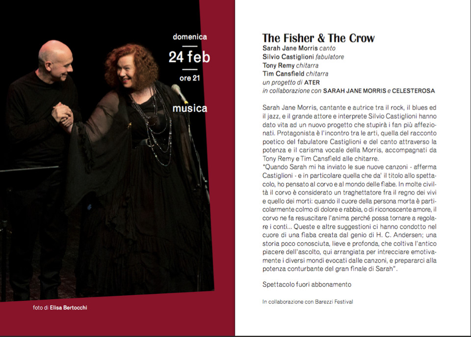 The Fisher and the Crow al Teatro Verdi di Busseto