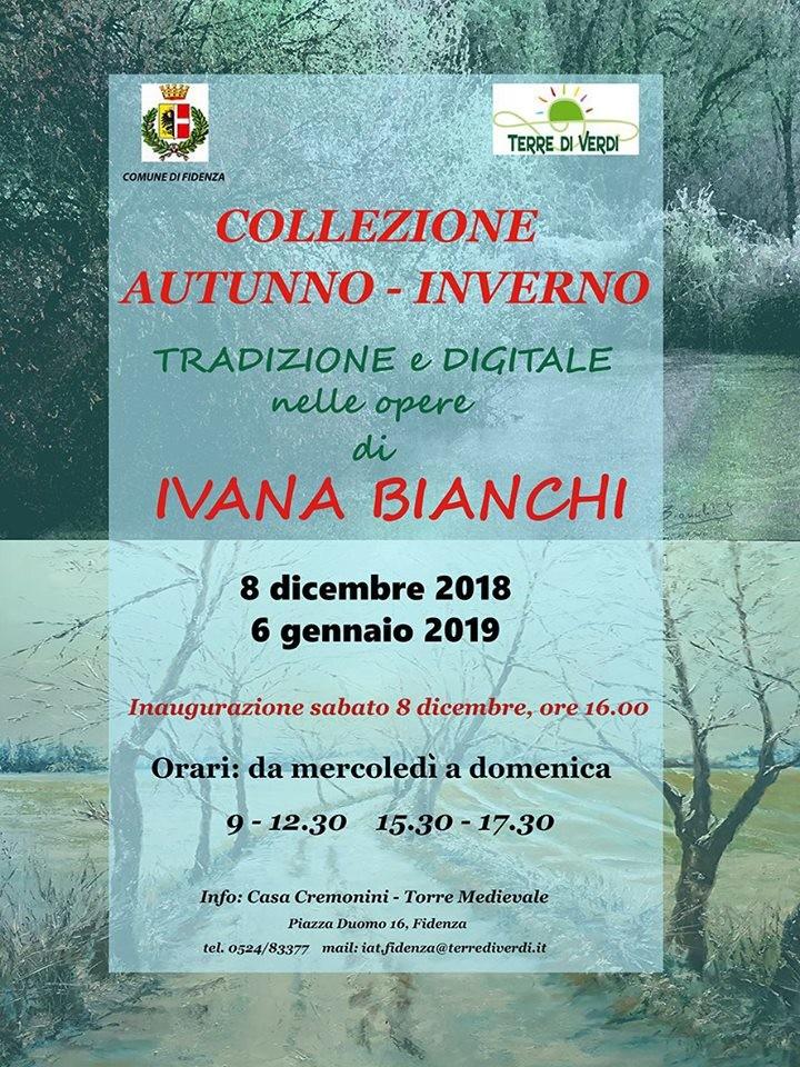 """""""Collezione autunno – inverno"""" della pittrice fidentina Ivana Bianchi presso la torre medievale"""