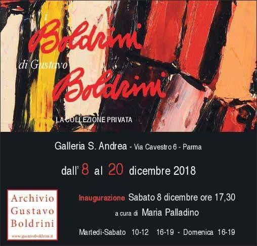I BOLDRINI DI GUSTAVO BOLDRINI mostra retrospettiva alla  Galleria S.Andrea