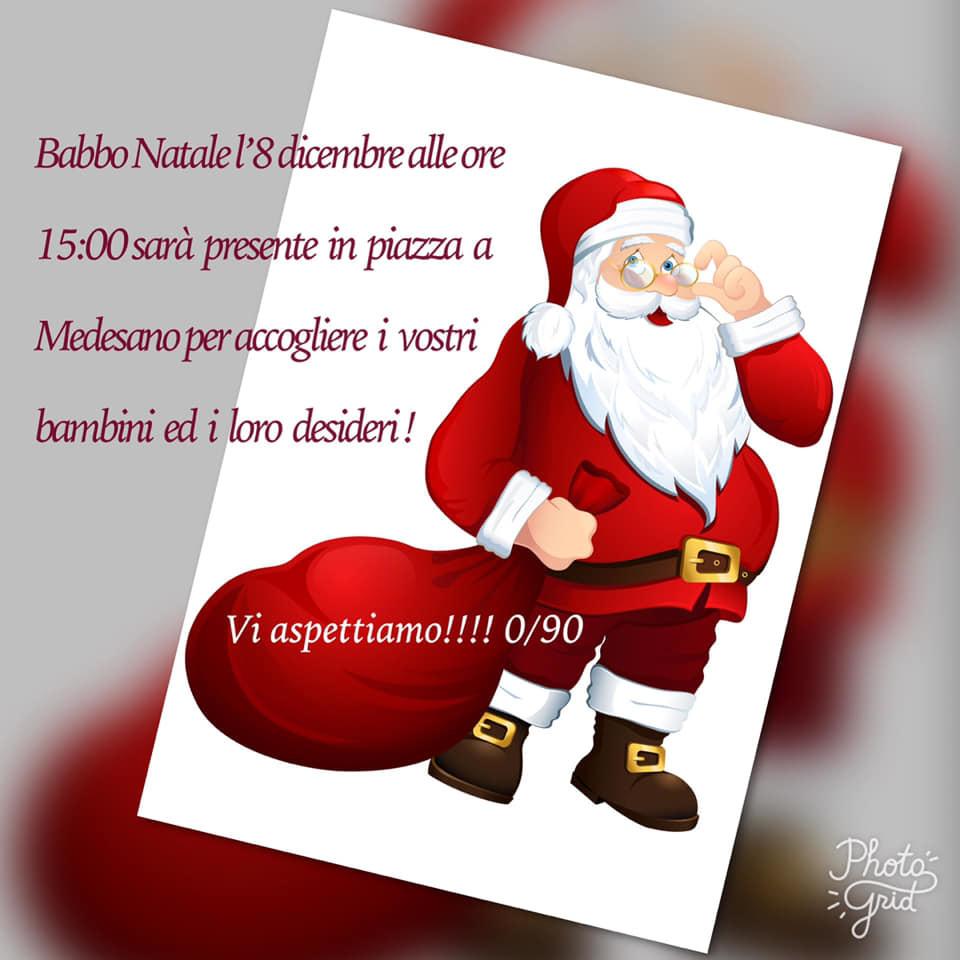 Babbo Natale a Medesano