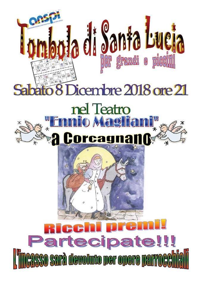 Tombola di S. Lucia a Corcagnano