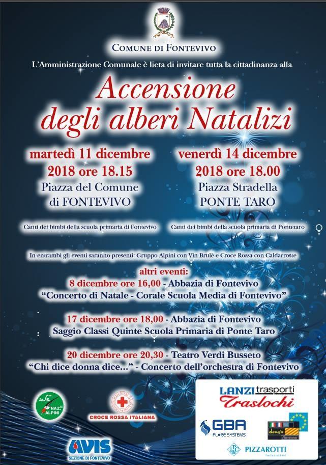 Eventi natalizi a Fontevivo