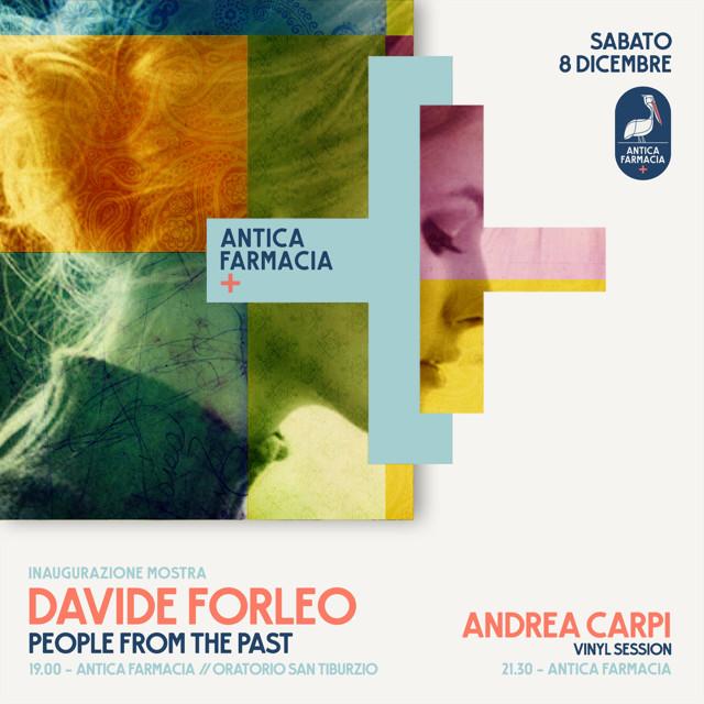People from the past, mostra dell'illustratore e graphic designer Davide Forleo