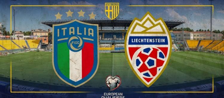 La Nazionale Italiana al Tardini per le 'European Qualifiers' ITALIA vs LIECHTENSTEN