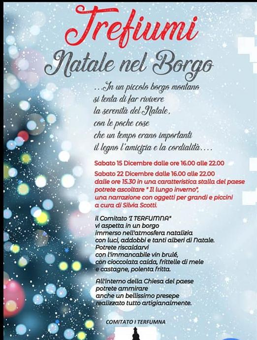 """A TREFIUMI """"Natale al Borgo"""""""