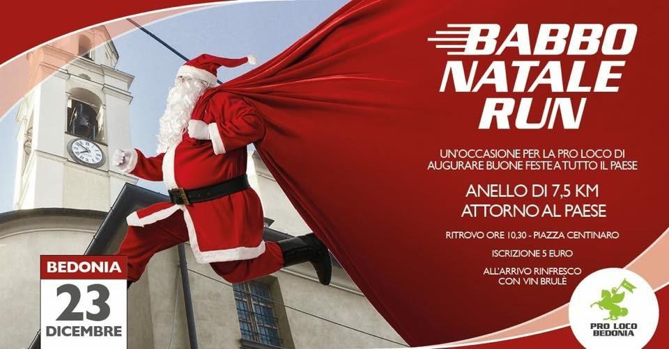 Babbo Natale run a Bedonia