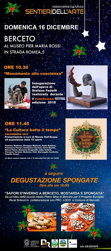I sentieri dell'arte al Museo Pier Maria Rossi, una giornata golosa e culturale