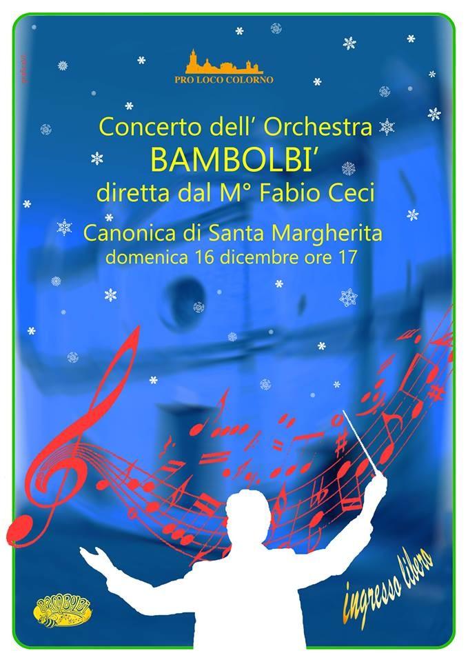 Concerto dell' Orchestra Bambolbì