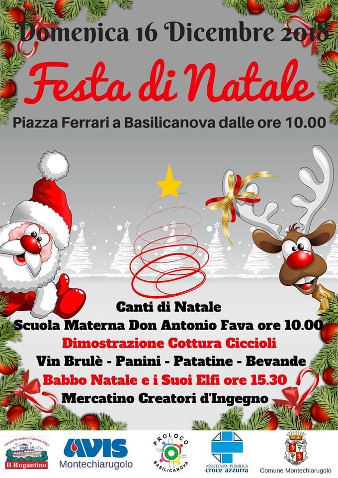 Festa di natale a Basilicanova