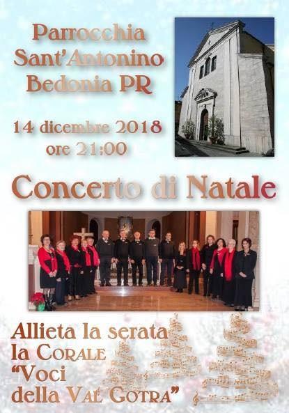 Concerto di Natale a Bedonia