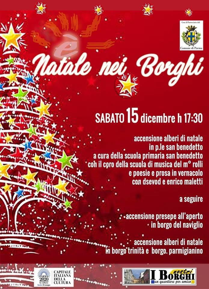Natale nei Borghi: accensione alberi e presepe e...
