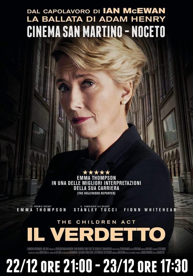 IL VERDETTO  al Cinema San Martino