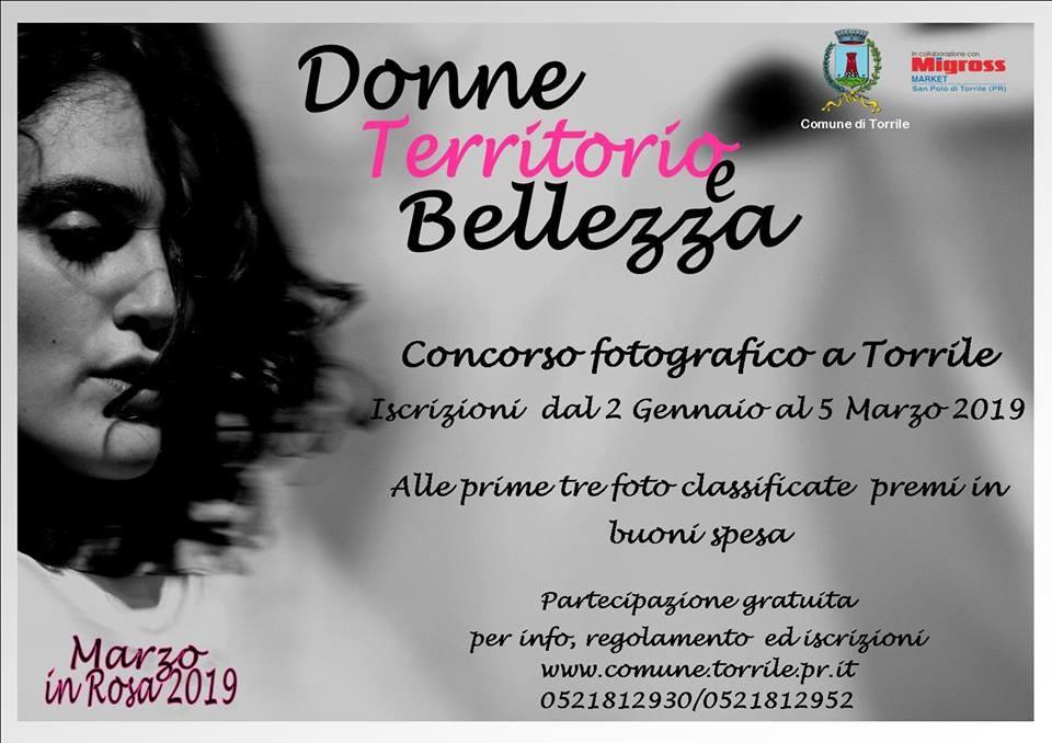 """""""Donne, territorio, bellezza"""" concorso fotografico"""
