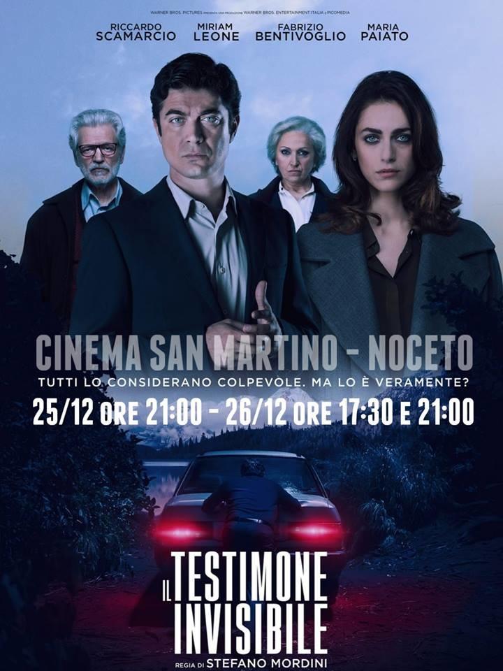 IL TESTIMONE INVISIBILE al Cinema San Martino