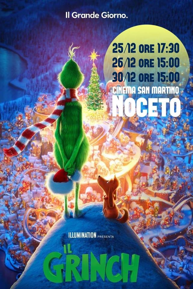 IL GRINCH al Cinema San Martino