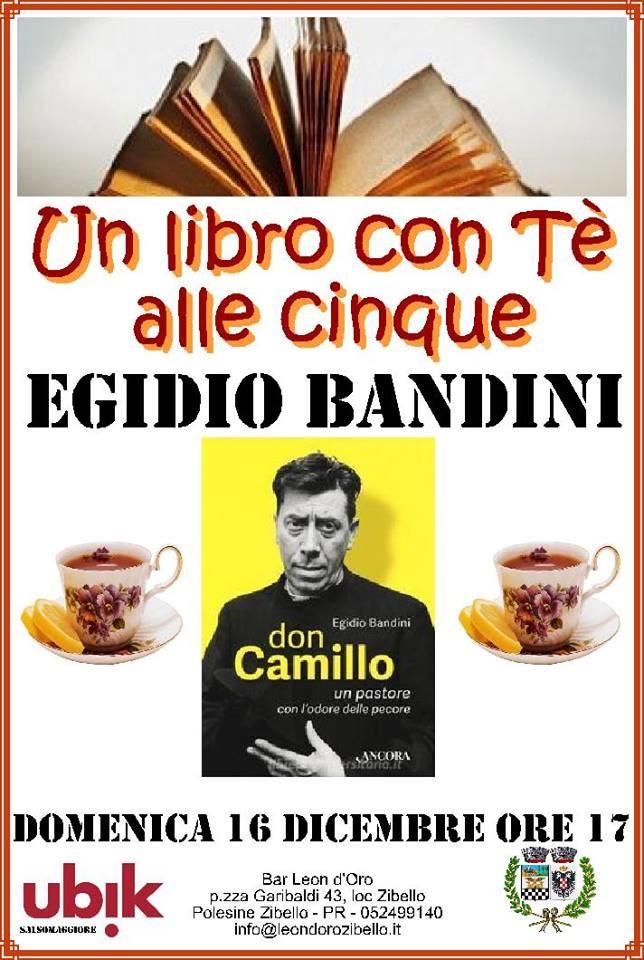 Don Camillo un pastore con l'odore delle pecore con Egidio Bandini al Bar Trattoria IL LEON D'ORO