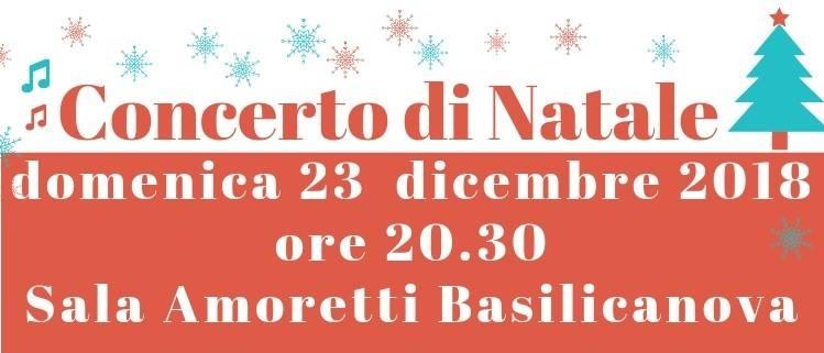Concerto di Natale a Basilicanova