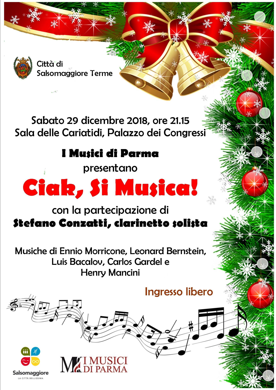 Ciak, si  musica. Concerto  dei Musici di Parma