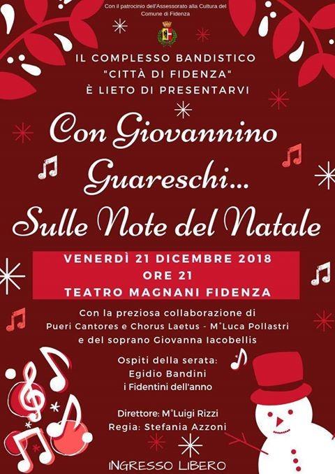 """""""Sulle note del Natale ...con Giovannino Guareschi"""", concerto al Teatro Magnani"""