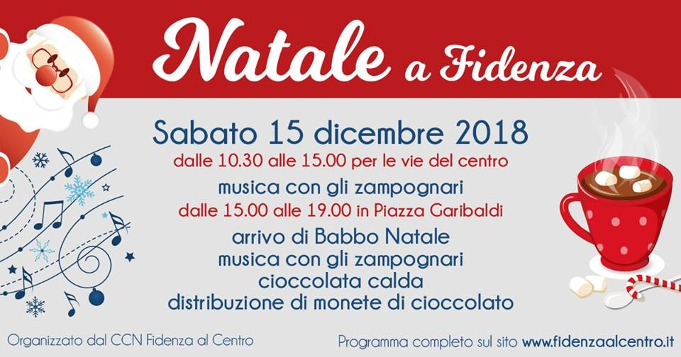Natale a Fidenza con gli zampognari e...