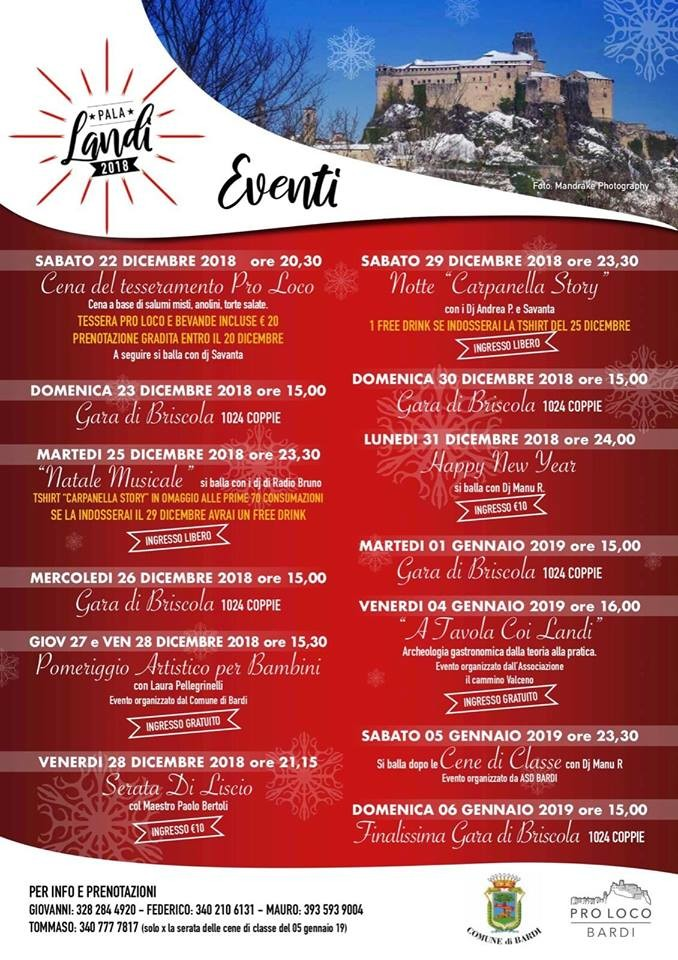 Eventi a Bardi per Natale