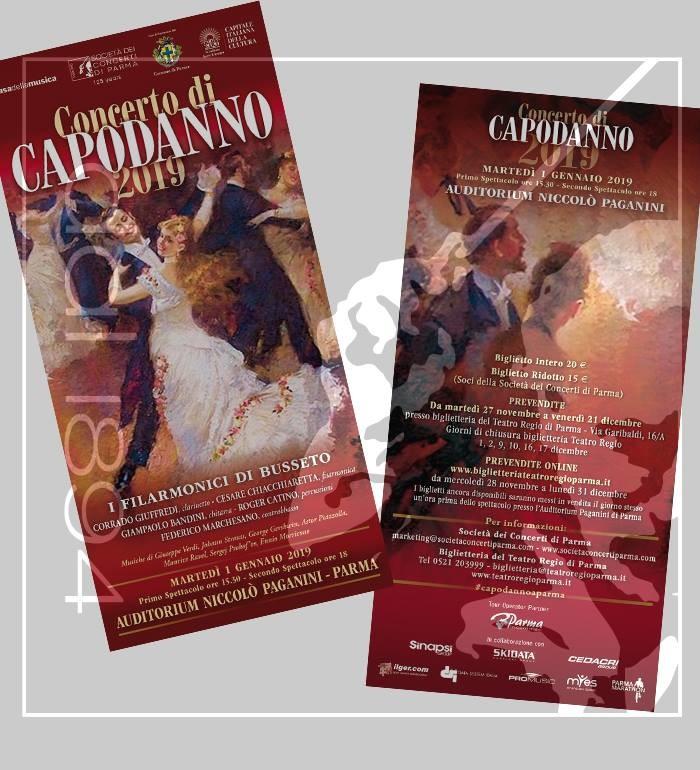 Vendita biglietti per il Concerto di Capodanno all'Auditorium Paganini