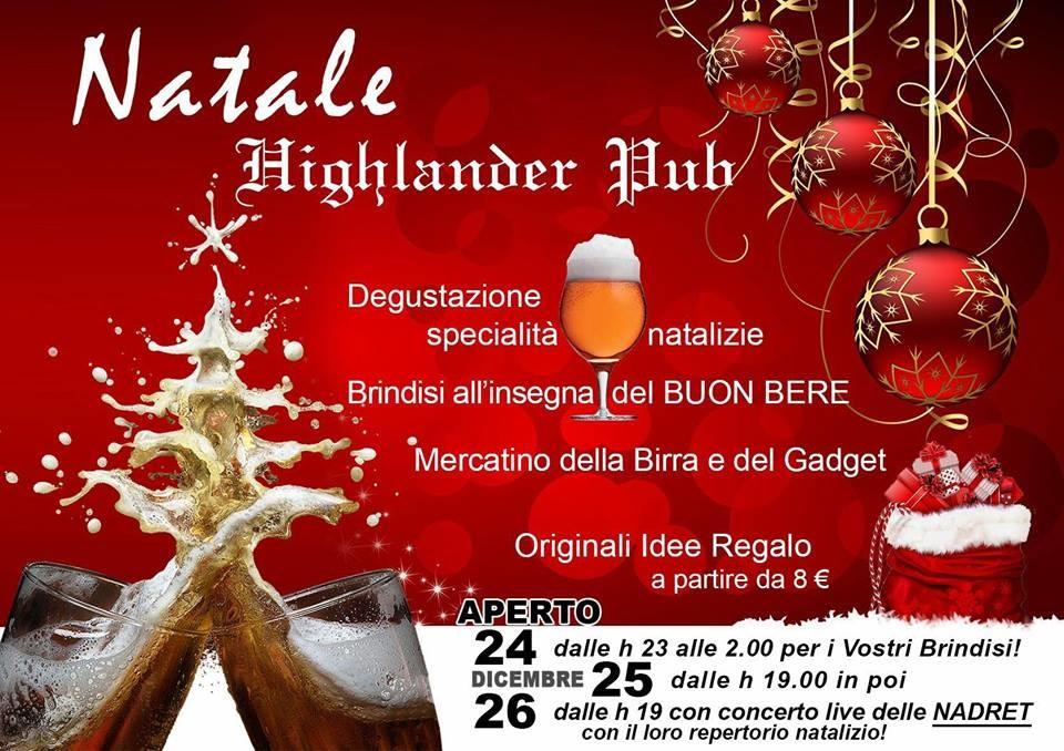 Natale al pub Highlander