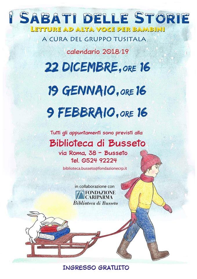 Letture animate per bambini alla Biblioteca di Busseto
