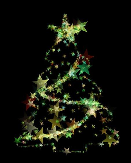 Oratorio di Fontanellato: accensione dell'albero di Natale