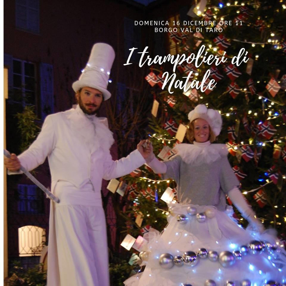 I trampolieri di Natale a Borgotaro