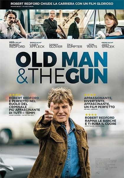 "A Mycinem@ - Fidenza ""OLD MAN & THE GUN"""
