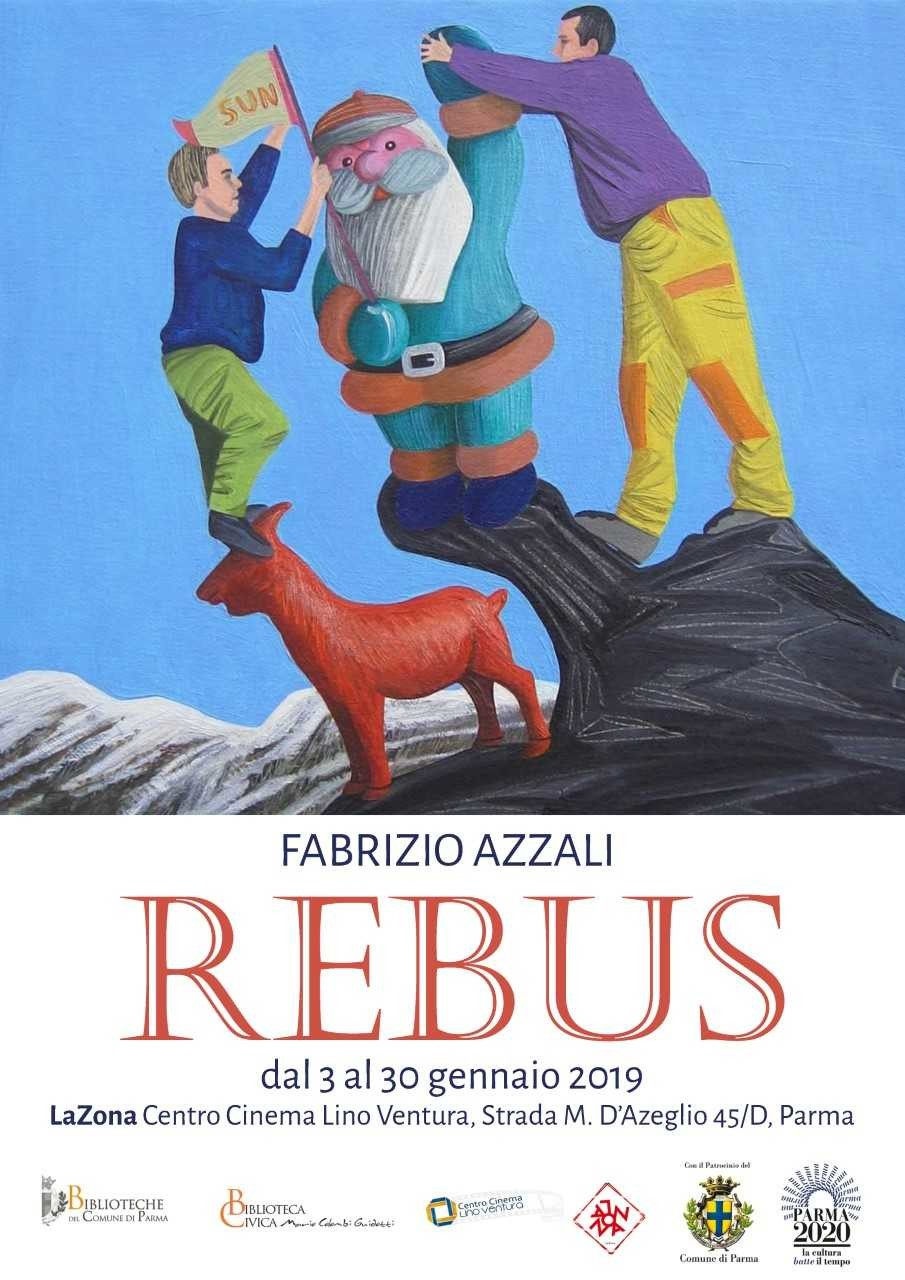 Rebus, mostra di Fabrizio Azzali  al Centro Cinema Lino Ventura