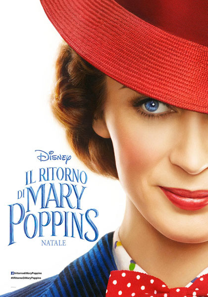IL RITORNO DI MARY POPPINS al cinema Odeon di Salsomaggiore