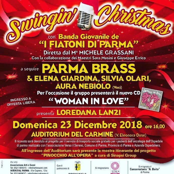 Swingin' Christmas con i Parma Brass