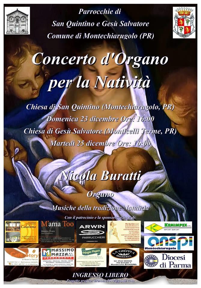 Concerto d'organo per la Natività