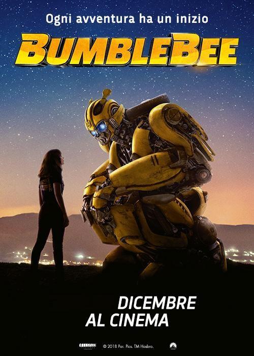 BUMBLEBEE al cinema Cristallo di Borgotaro