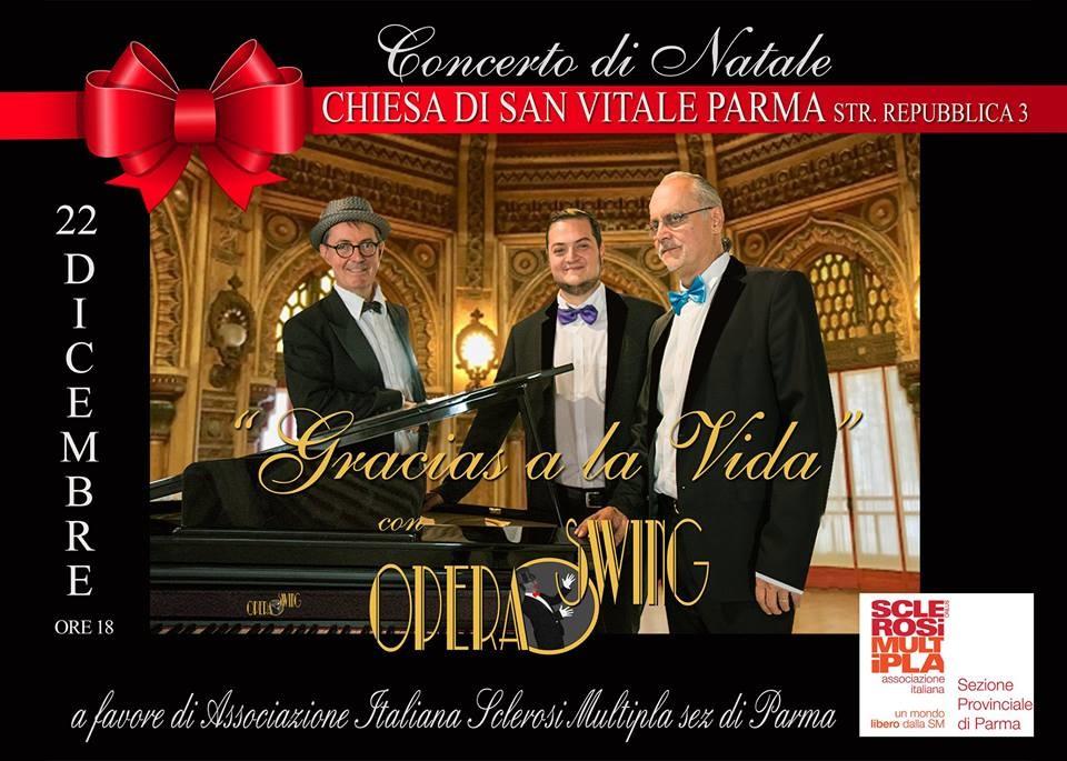 Gracias a la Vida nella  Chiesa di San Vitale  concerto con il gruppo Opera Swing