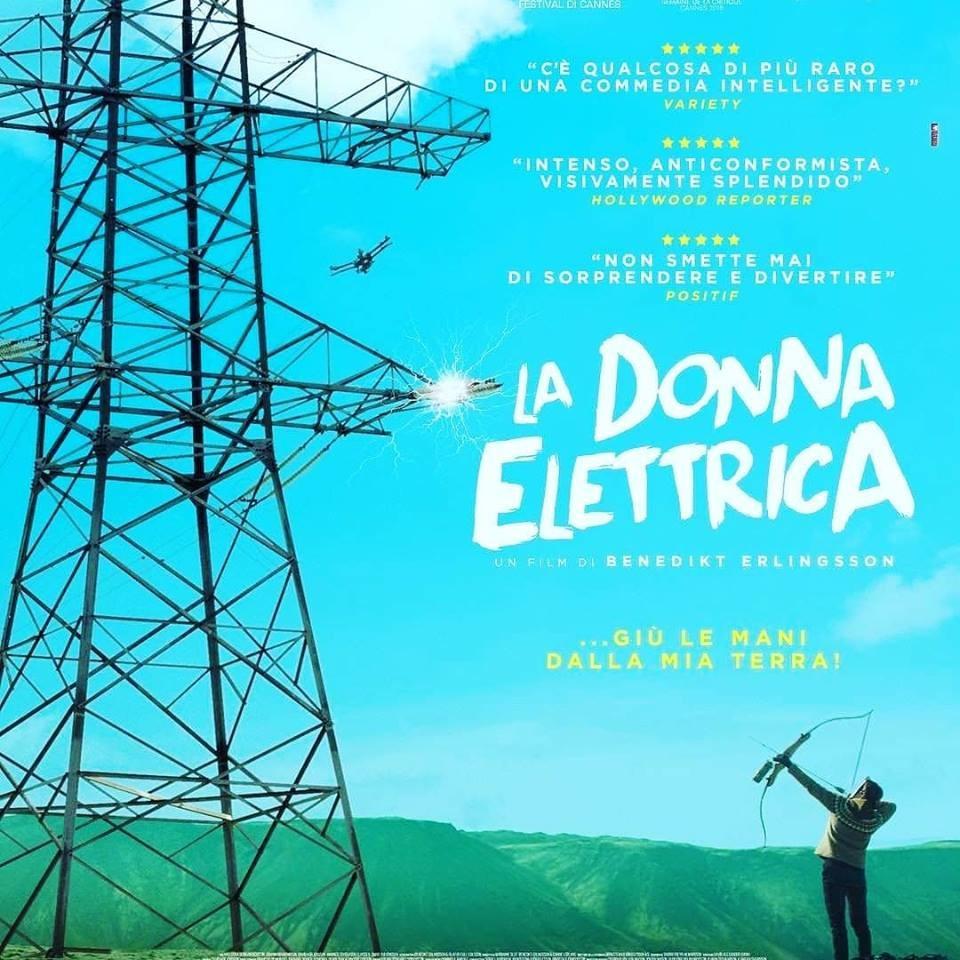 La donna elettrica, di Benedikt Erlingsson al cinema Edison