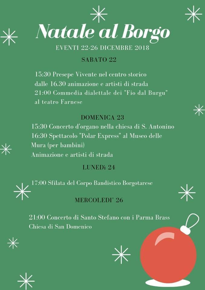 Natale al Borgo: presepe vivente e ...