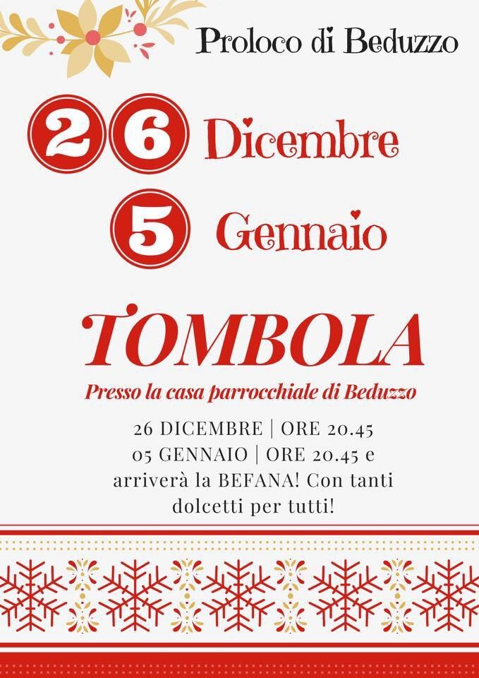 Tombola a Beduzzo
