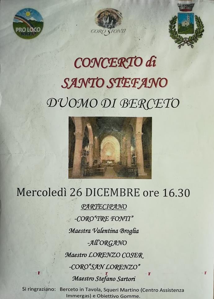 Concerto nel Duomo di Berceto