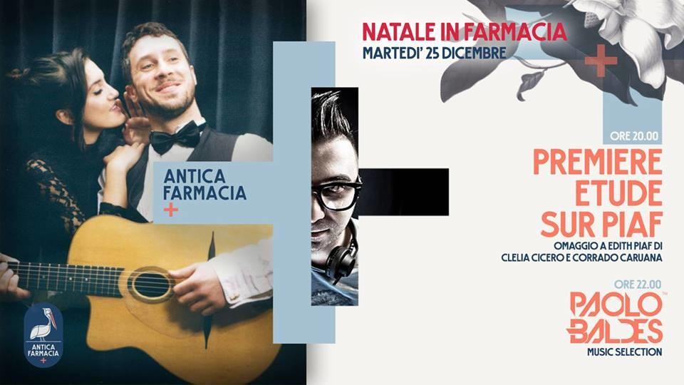 Natale in Farmacia // Première étude sur Piaf + Paolo Baldes