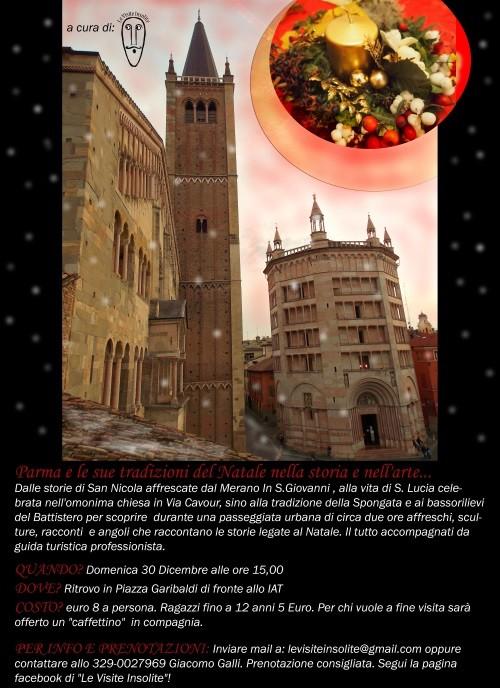 Parma e le sue tradizioni del Natale nella storia e nell'arte, visita guidata